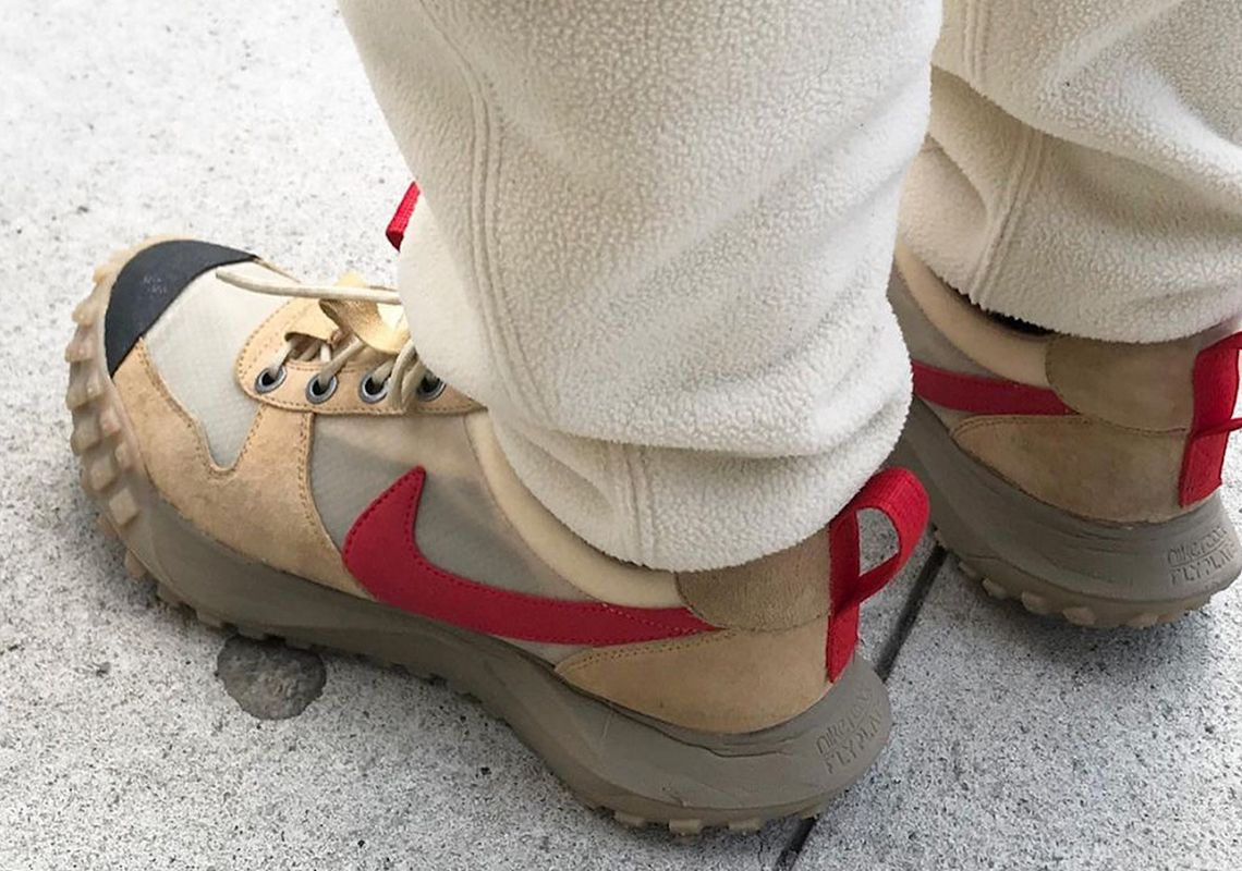 tom sachs nike mars yard 2.5 on foot leak