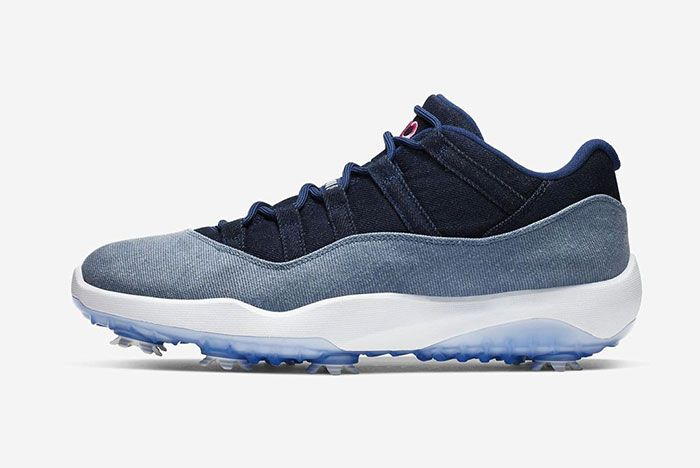 Air Jordan 11 Golf Us Open Side Shot