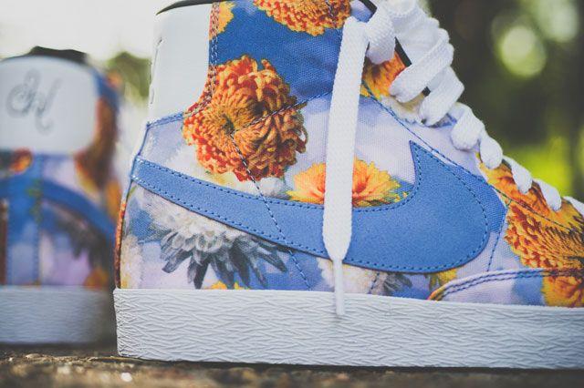 Nike Vintage Blazer City Pack Chi Closeup