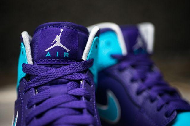 Air Jordan 1 Mid Court Purple