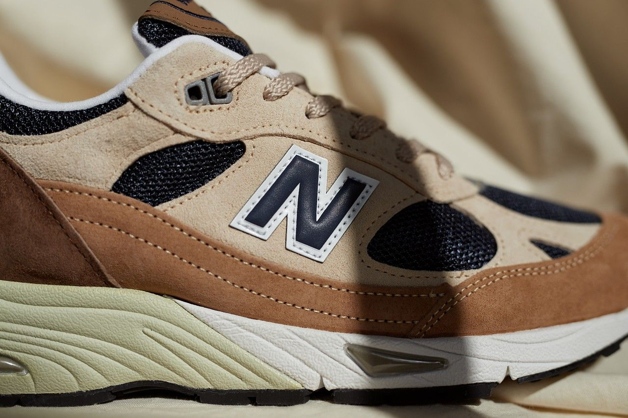 New Balance 991 Coffee