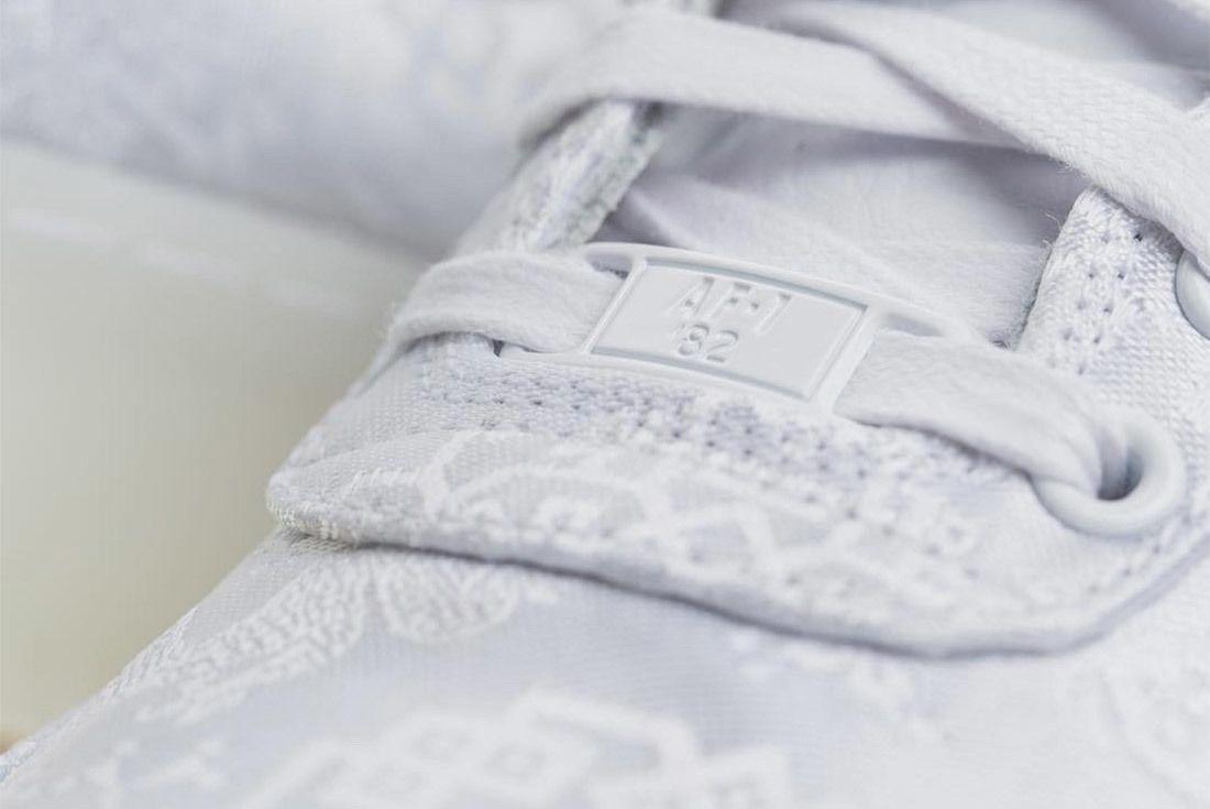 Clot X Nike Air Force 1 White On White 2018 Sneaker Freaker 2