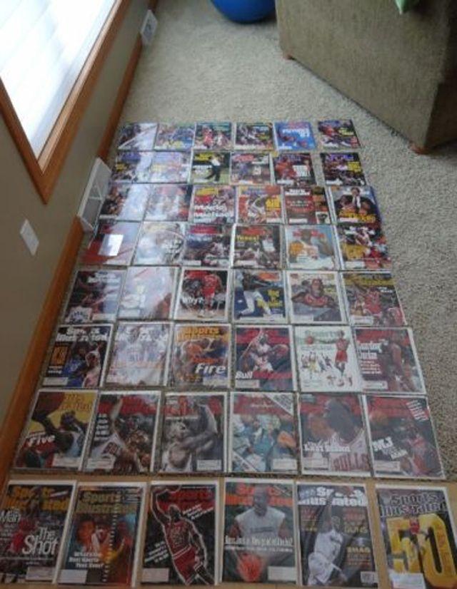 Michael Jordan Sports Illustrated Covers 1