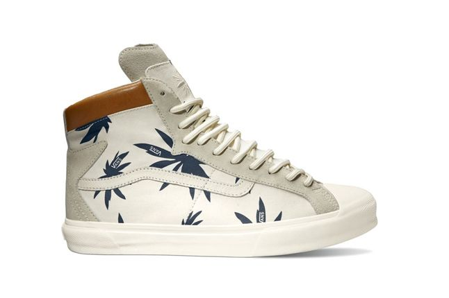 Vans Taka Hayashi Palm Checker Pack Rever Hi Lx Profile 1