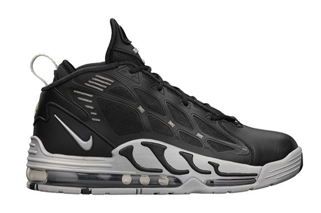 Nike Air Max Pillar Black Metallic Silver Side Profile 1