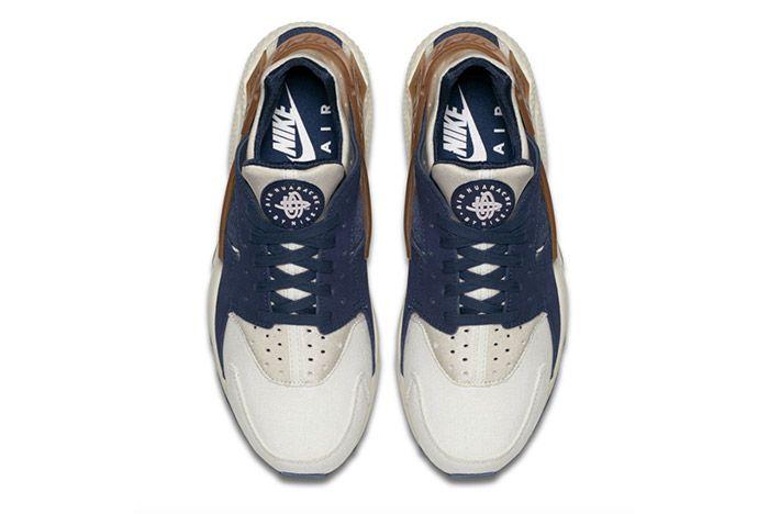 Nike Air Huarache Gum Strap Sail White 1