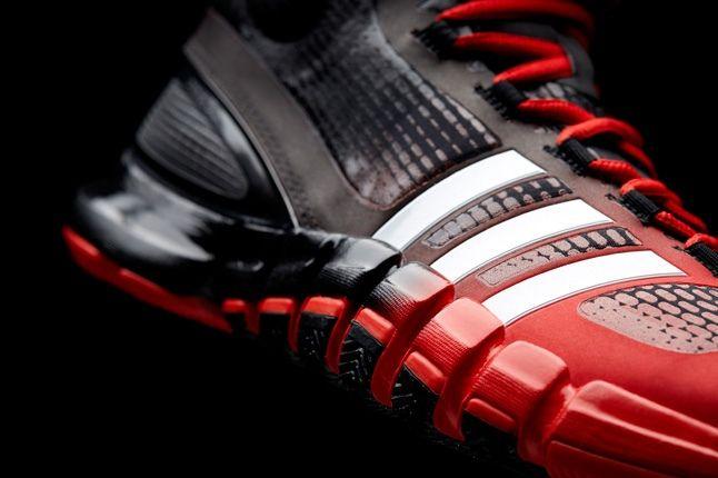 Adidas Crazyquick Black Redwhite Toe Detail 1