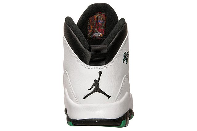 Air Jordan 10 Gg White Verde Black 4
