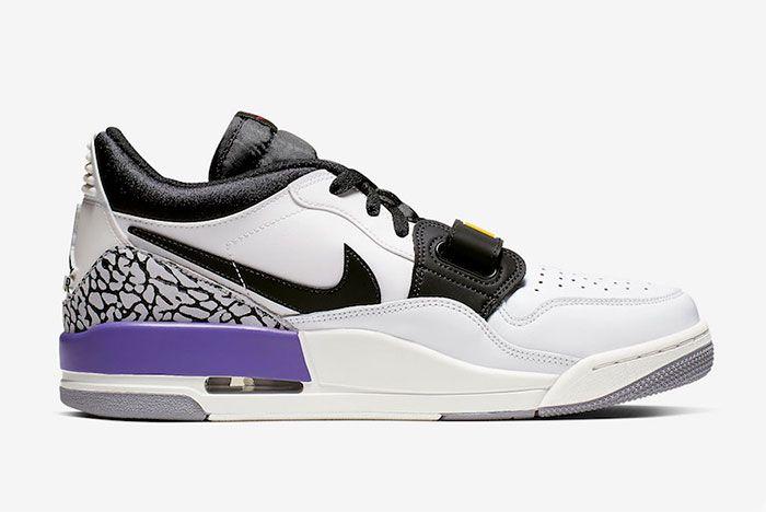 Jordan Legacy 312 Low Lakers Right