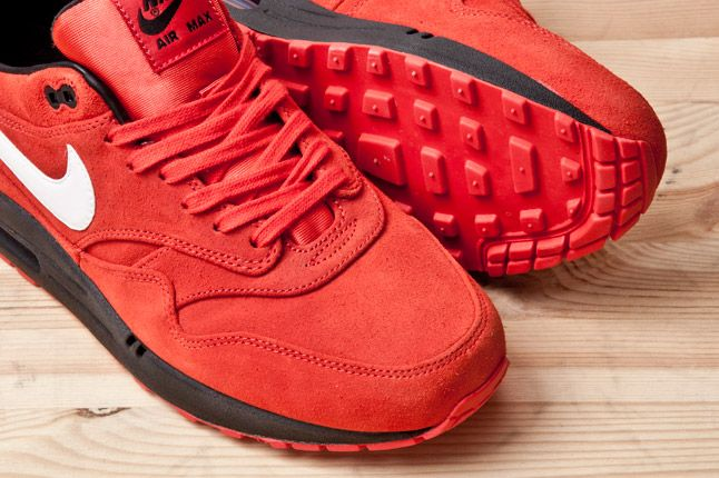 Nike Air Max 1 Prm Red Blk Sole 1