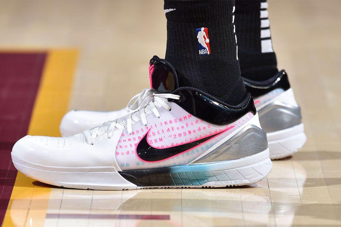 Nike Kobe 4 On Foot Nba