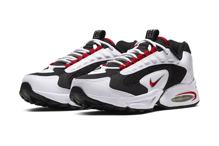 Nike Air Max Triax 96 White University Red Black Release Date Pair
