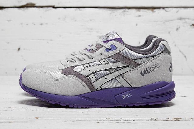 Asics Gel Saga Grey Purple 4