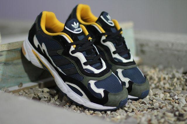 Adidas Originals Temper Run Olive Navy Sunflower 4