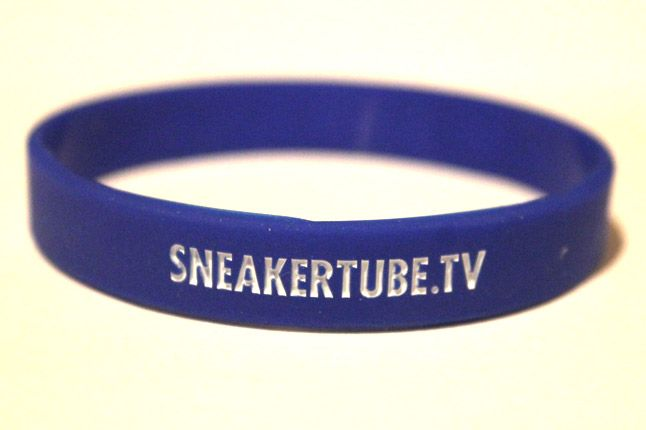 Sneakertube Blue Wristband 1