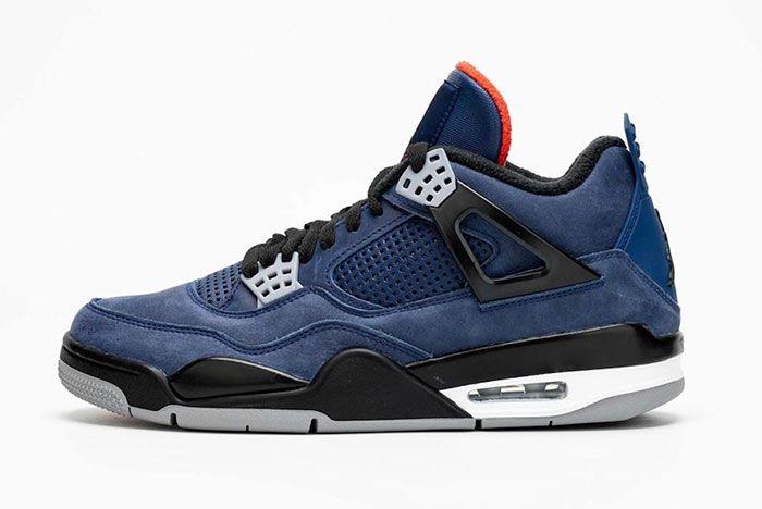Air Jordan 4 Wntr Loyal Blue Cq9597 401 Release Date 1 Side
