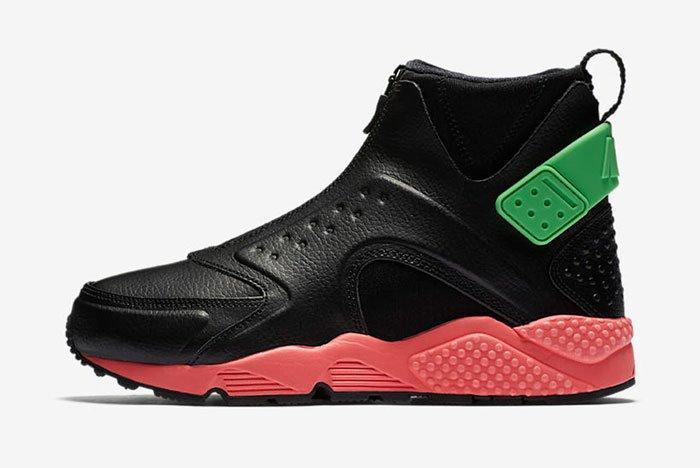 Nike Huarache Mid Premium Wmns Hot Punch