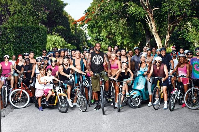 Nike Basketball Lebron James Training Day Campaign 3