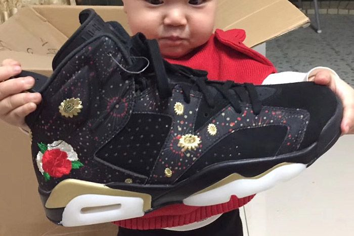 Air Jordan 6 Cny Chinese New Year2