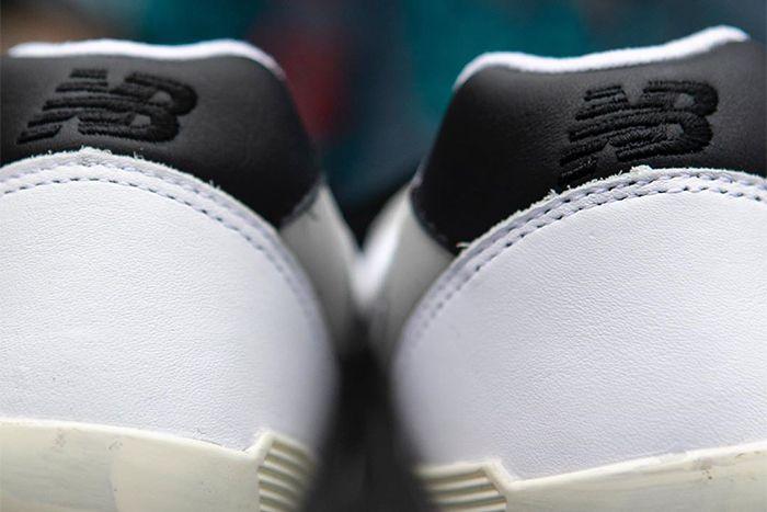 Nonnative New Balance 996 Grey Black Cm996Nns Release Date Heel