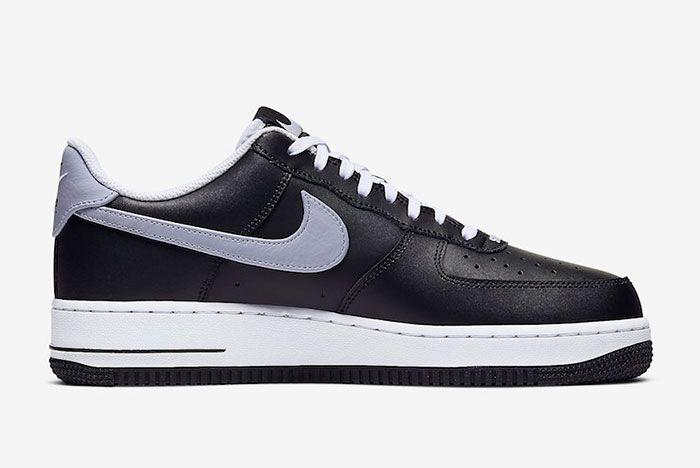 Nike Air Force 1 Low Black Wolf Grey Cj8731 001 Release Date 2 Side