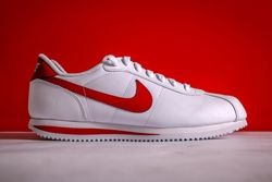 Nike Cortez White Varsity Red Thumb
