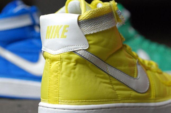 Nike Vandal Supreme Yellow Heel Detail 1
