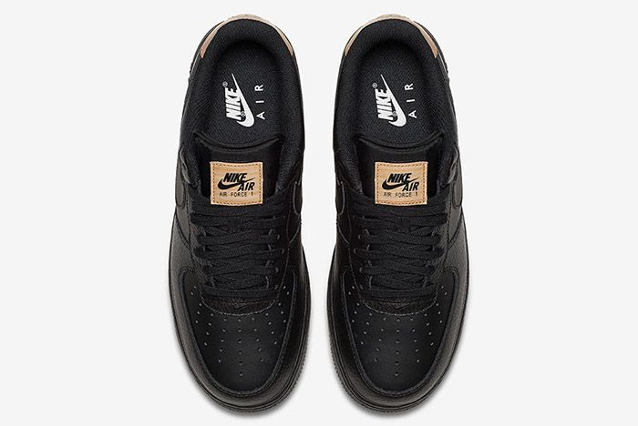 Nike Air Force 1 Low Black Leather 3