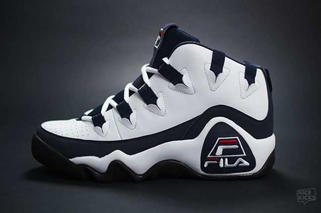 Fila 95 Retro Grant Hill White Profile 1