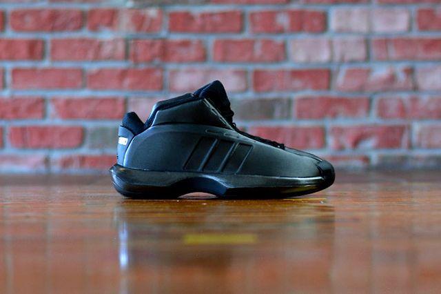 Adidas Crazy 1 Triple Black 1