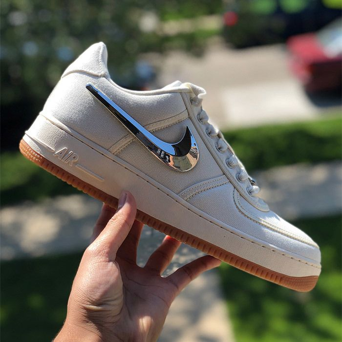 Travis Scott Nike Air Force 1 Sail 2