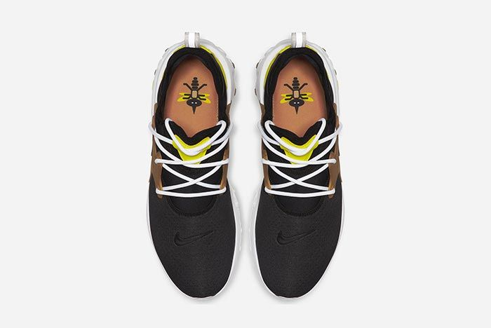 Nike Air Presto React Brutal Honey Above Shot