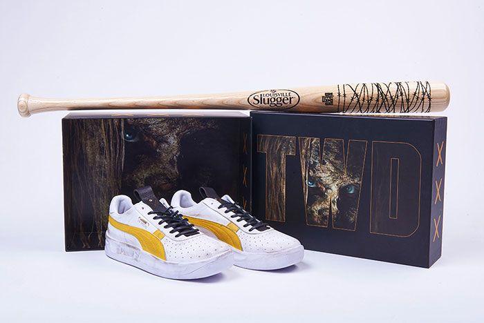 Walking Dead Puma Gv Special 5 Pair Box And Bat