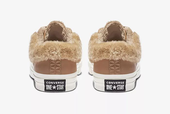 Converse One Star Fur Caramel 3