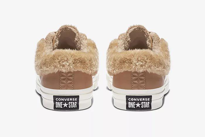 Converse One Star Fur Caramel 3