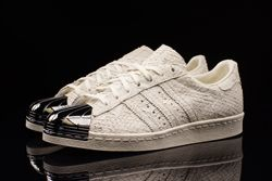 Adidas Superstar 80S Metal Toe Antique White Thumb