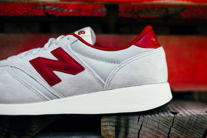 New Balance 420 Revlite Grey Red 4