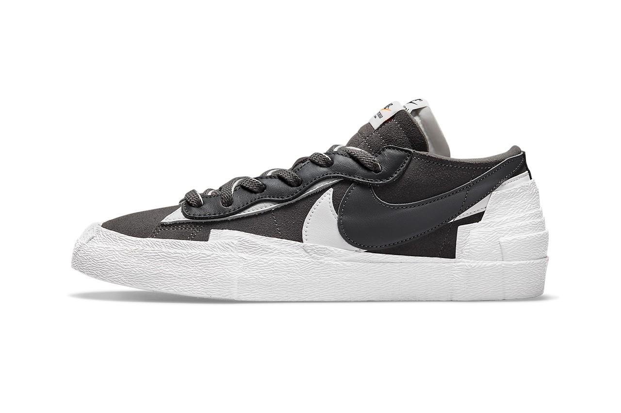sacai x Nike Blazer Low Iron Grey DD1877-002