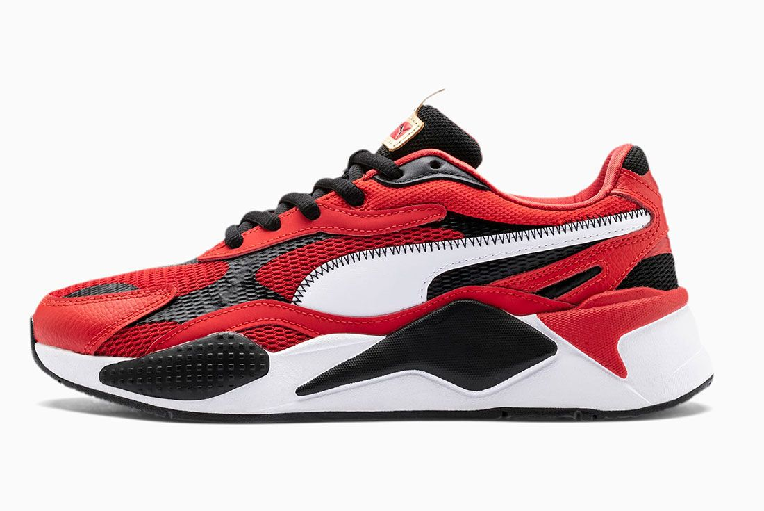 Rs X Chinese New Year Mens Sneakers On White