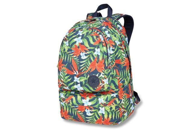 Converse Allstar Chukc Specialty Hawaiian Print Blue Backpack 1