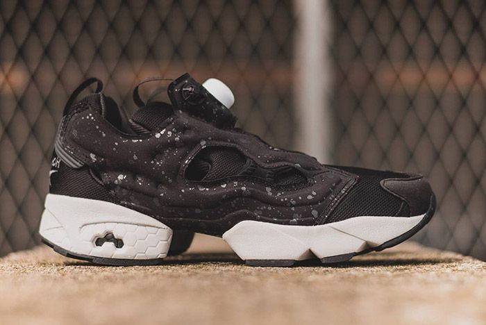 Rrebok Insta Pump Fury Speckled Pack Black