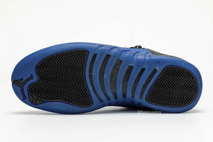 Air Jordan 12 Black Game Royal 130690 014 2019 Release Date 9 Sole
