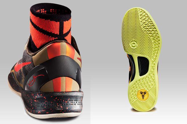 Nike Zoom Kobe 8 Red Heel Yellow Sole 1