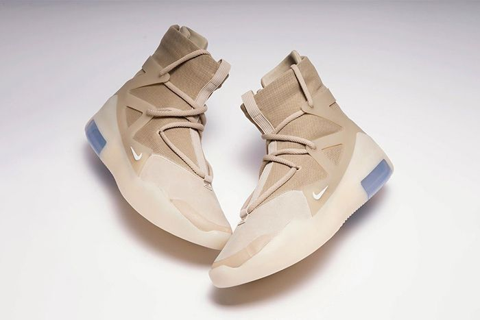 Nike Air Fear Of God 1 Oatmeal Leak Ar4237 900 Release Date Pair