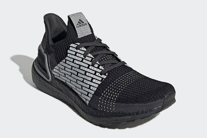 Adidas Neighborhood Ultra Boost 19 Fu7312 Front Angle
