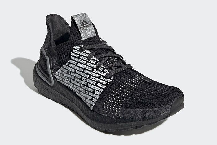 Adidas Neighborhood Ultra Boost 19 Fu7312 Front Angle