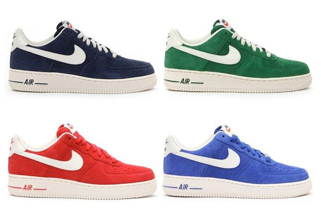 Nike Air Force 1 Low Suede Pack 1