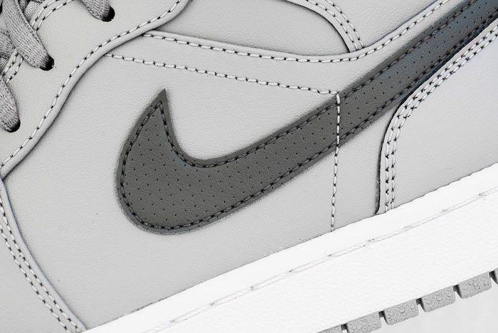 Air Jordan 1 Mid Cool Grey 6