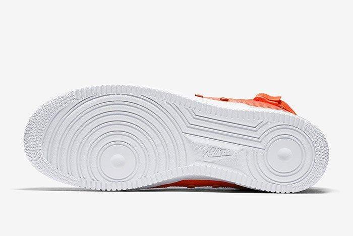 Nike Sf Air Force 1 Mid Team Orange 2