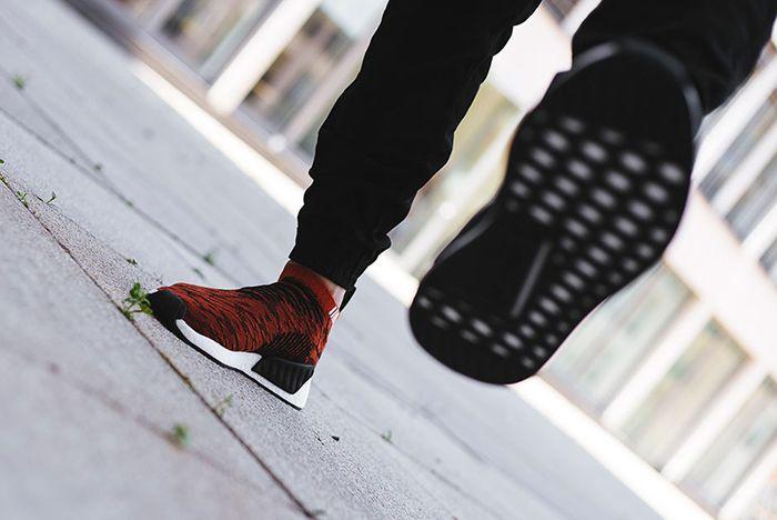 Adidas Nmd City Sock 2 Harvest Red 4
